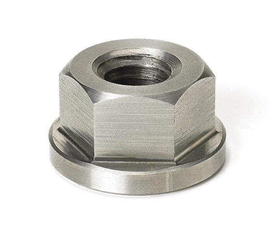 Morton Stainless Steel Flange Collar Nuts Inch Size 1//4-28 Thread Size Morton Machine Works CN-100SS
