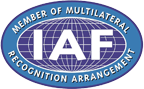 IAF | Member of Multilateral | Recognition Arrangement