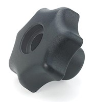 Product image - Metric Thru-Hole Plastic Hand Knobs