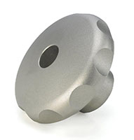 Product Image - Stainless Steel Hand Knobs(Tapped Through Hole)
