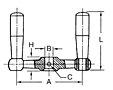 Balanced Double Crank Handles Schematic